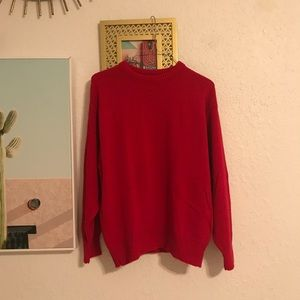 Vintage red sweater